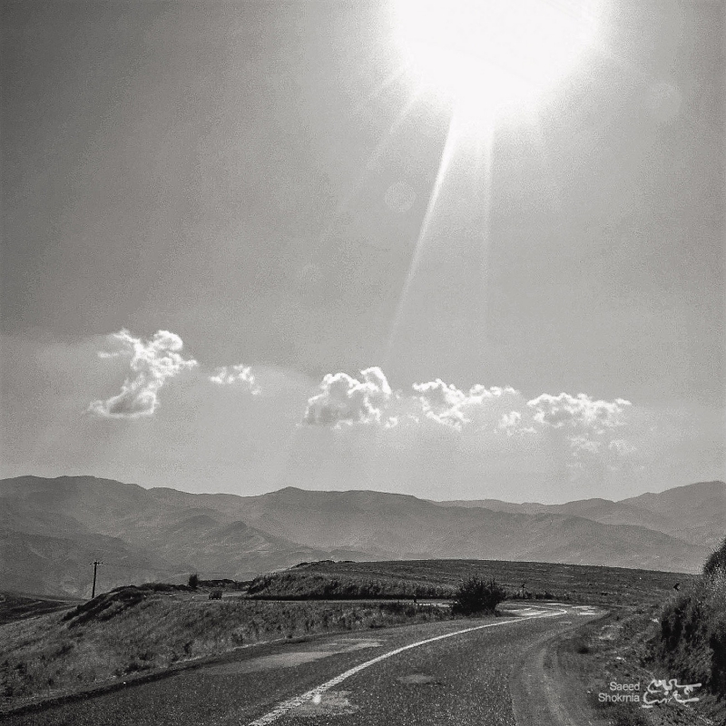 Sky, Sun, Road, Travelling