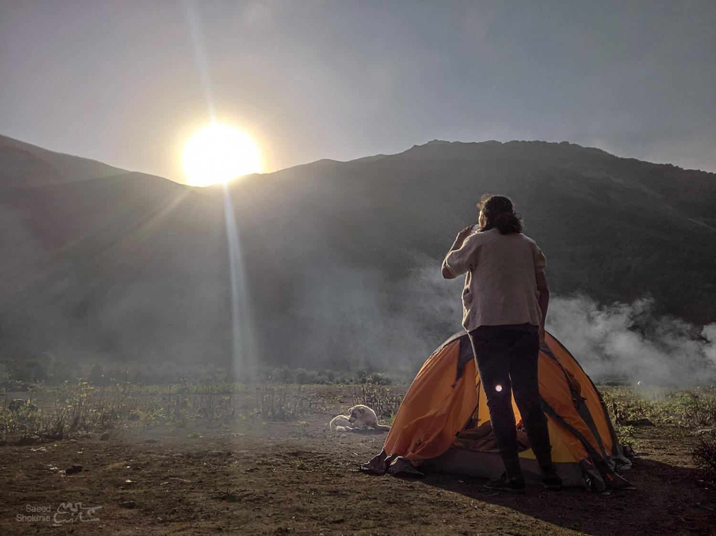 Sun, Morning, Mountain, Camping, Photo