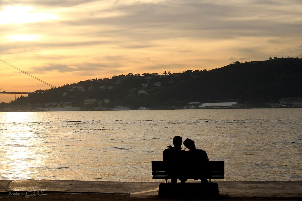Sea, Photography, Istanbul, Photo, Girl, Sunset, Love