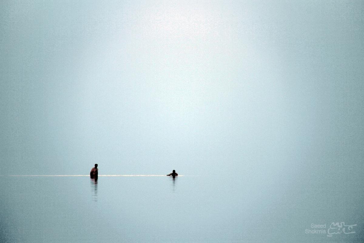 Lake, Minimal Photography, Photo, Mans, Urmia Lake