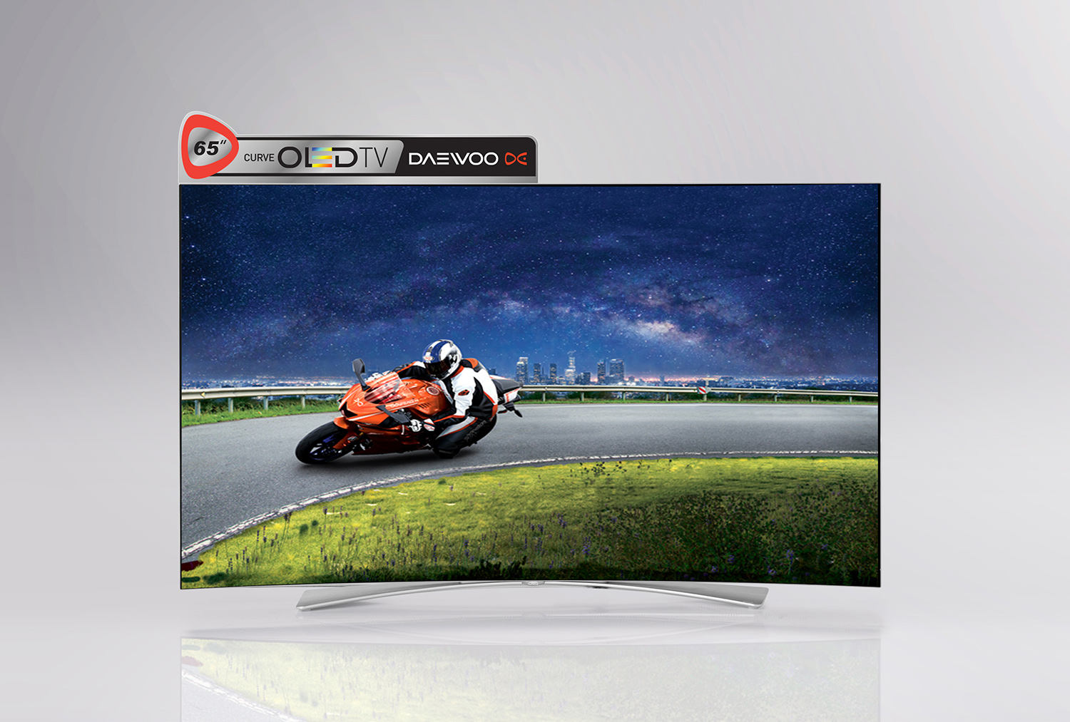 Daewoo OLED TV Advertising Campaign, Copyrighting, POP Design