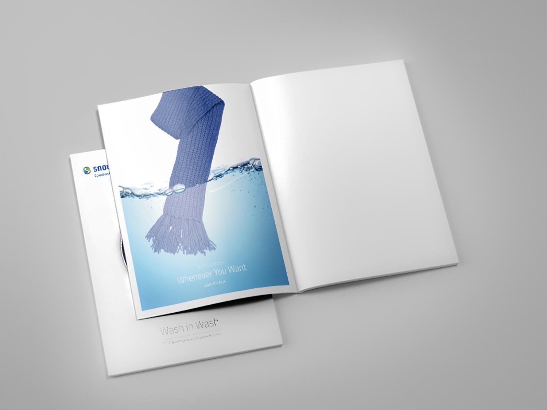 Catalog Design, Snowa Wash machine Advertising, Advertising Photography